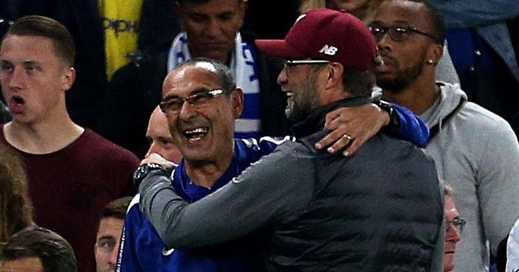 Sarri and Klopp's brilliant conversation when Chelsea were beating Liverpool