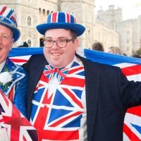 Royal superfans who camped out for three nights discover little competition
