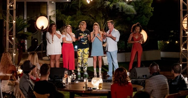 X Factor girls shocked to see who they are singing in front of at Judges' Houses