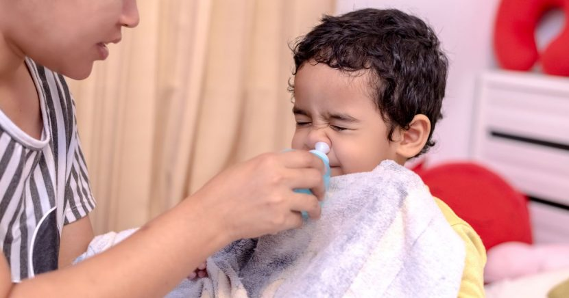 Parents are warned to not give children decongestants when they have a cold