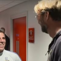 Tunnel cam captures what Klopp said to Zola – and his brilliant reaction