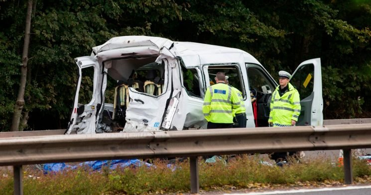"""Autism school """"devastated"""" after two staff members killed in M4 minibus crash"""