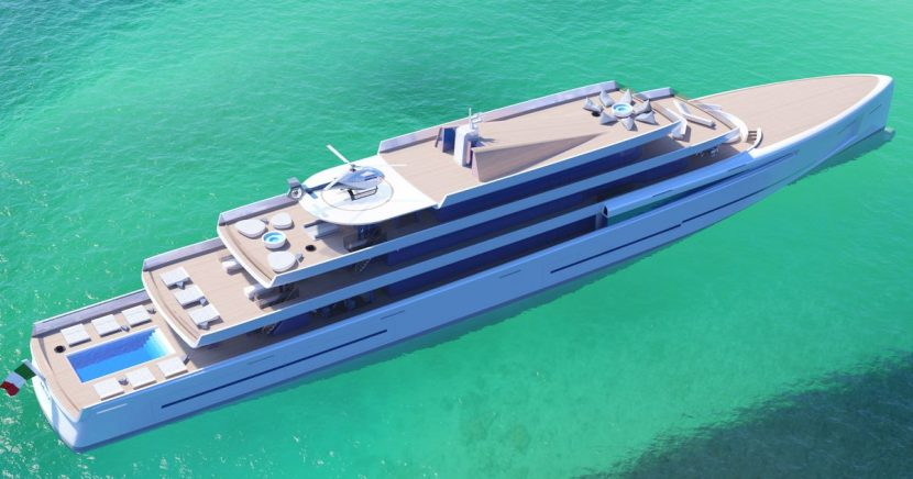 Superyacht costing £200m can 'turn invisible' to protect billionaires' privacy