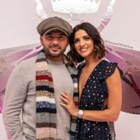 Ryan Thomas and Lucy Mecklenburgh look loved-up after those 'row' photos