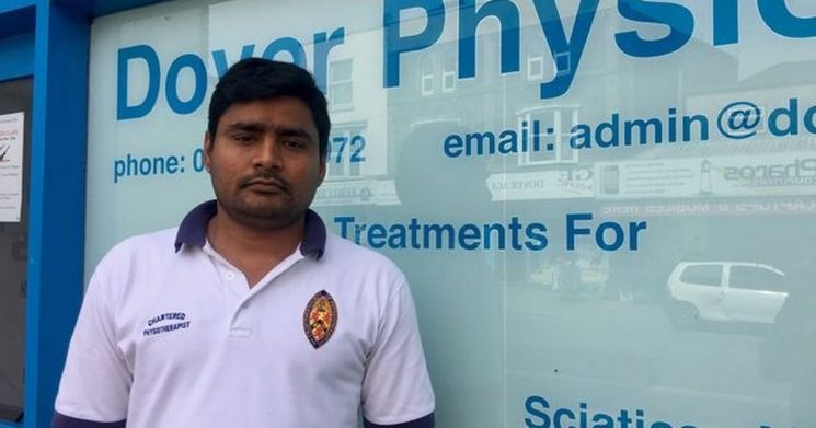 Town's only physiotherapist set to be saved from deportation