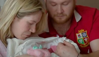 Dad opens up after he struggled with the loss of his stillborn daughter