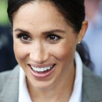 'Role model' Meghan Markle shows Aboriginal schoolgirls 'anyone can be accepted'