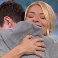 This Morning viewers in tears as autistic superfan hugs heroes Phil and Holly