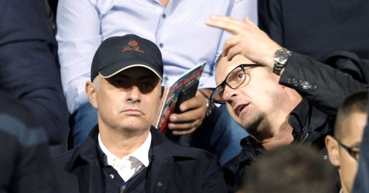 The players Mourinho was scouting as he watched international clash