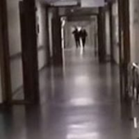 Mum terrified by spine-chilling 'demon voice' recorded in hospital corridor