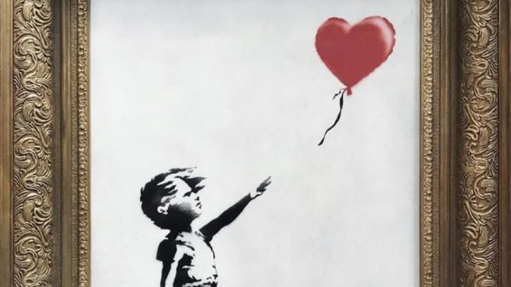 'It worked every time': Banksy reveals half-shredded artwork was a malfunction