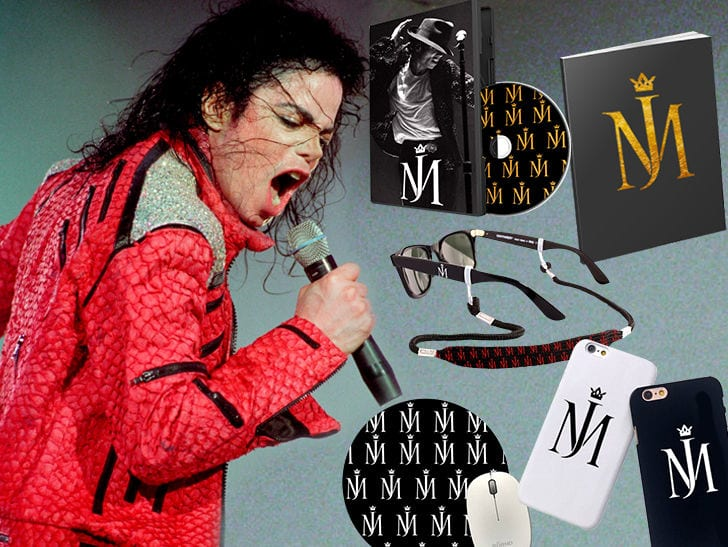 Michael Jackson Sparks New Music Speculation With Trademark For New Logo