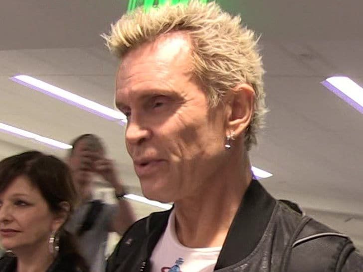 Billy Idol Sued By Woman Claiming He Stood Her Up