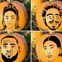 Celebrity Pumpkin Stencils — Slice, Slice Baby!