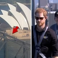 Prince Harry & Australian Prime Minister Scale Sydney Harbour Bridge