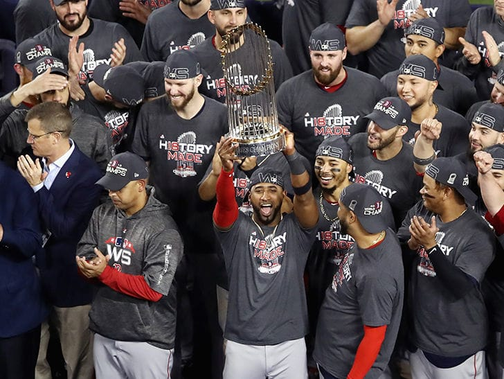 Boston Red Sox World Series Parade, It's a Party in Beantown!!