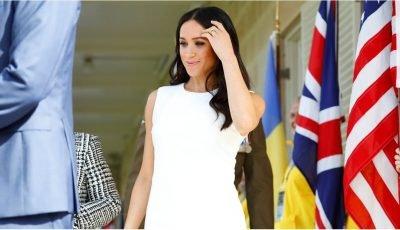 Isn't She Lovely? Meghan Markle Glows as She Kicks Off Her Australian Tour With Prince Harry
