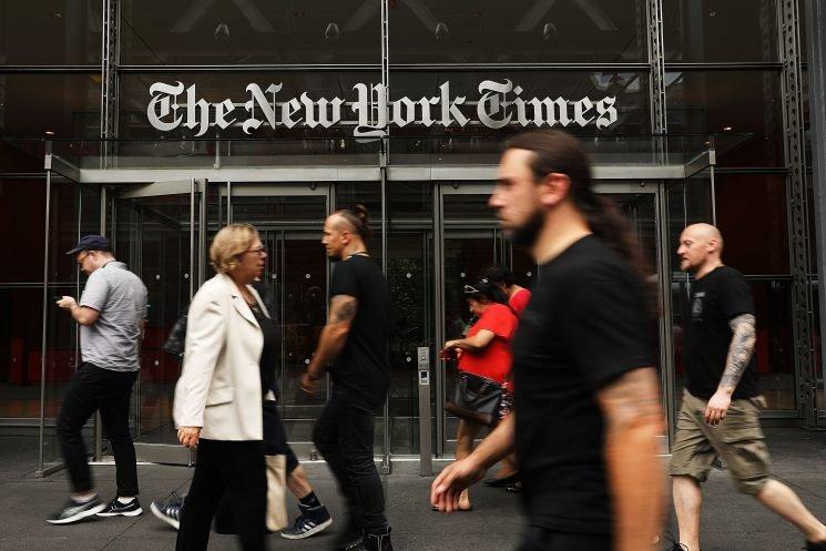 New York Times scrambles to defuse a full-blown staff rebellion