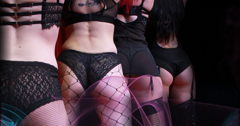 Inside adult circus promising 'filth and flesh' with topless dominatrix dancers