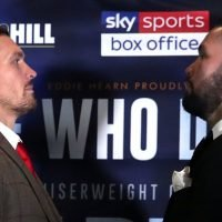 Oleksandr Usyk reveals what he noticed about Anthony Joshua