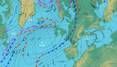 Monday's UK weather forecast – sunny and dry in most regions with rain turning heavy in the north