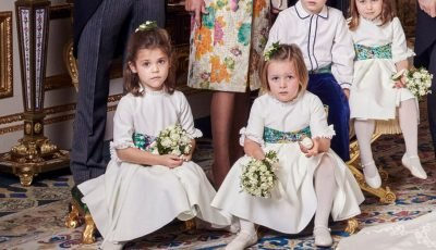 What Mia Tindall was holding in Eugenie's wedding photos reveals sweet secret