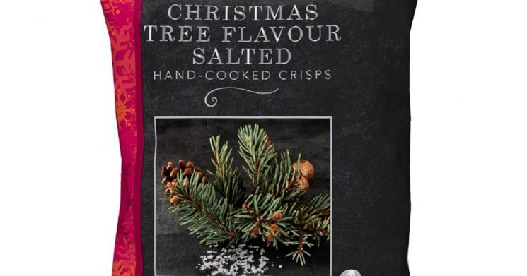 Iceland are selling Christmas tree flavoured crisps – and people are confused