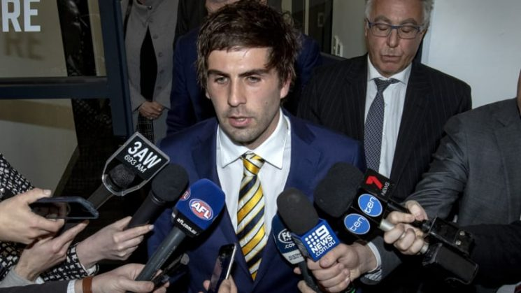 Andrew Gaff calls for send-off rule in the AFL