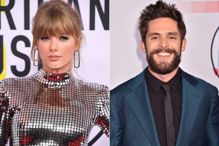 Thomas Rhett Isn't Surprised Taylor Swift Is Getting People to the Polls: She's a 'Force'
