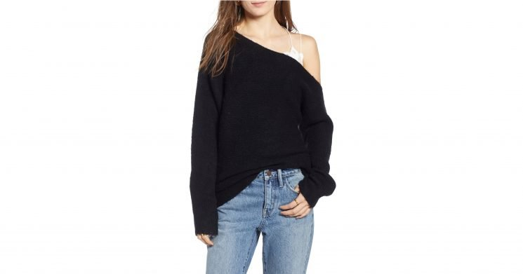 This Reader Favorite One-Shoulder Sweater Is Now Available in More Colors