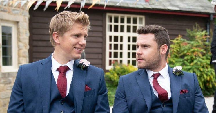 Emmerdale's Aaron and Robert wedding joy overshadowed by heartbreak revelation