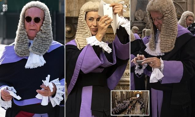 Judges mark start of a new legal year at Westminster Abbey service