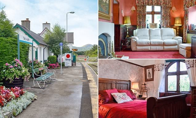 Holidaymakers can now stay in a former station master's house