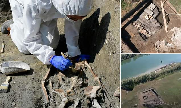 A 1,300-year-old skeleton found on Torcello may have been a SLAVE
