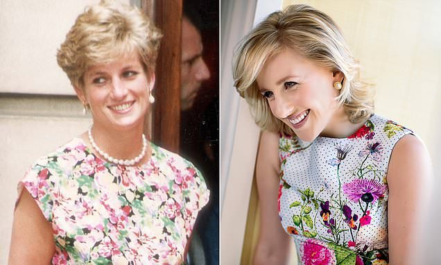 Rising British actress is revealed as the star of Diana the musical