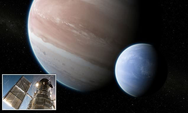 A moon the size of NEPTUNE orbits a planet 8,000 light-years away