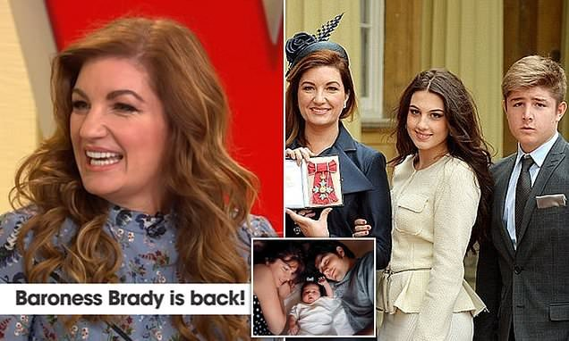 Karren Brady admits she had 'constant guilt' as a working mother