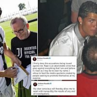 Ronaldo out of Portugal squad for matches this month amid rape claim