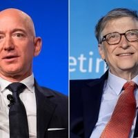 Bill Gates trails Jeff Bezos by $63BILLION on Forbes richest list
