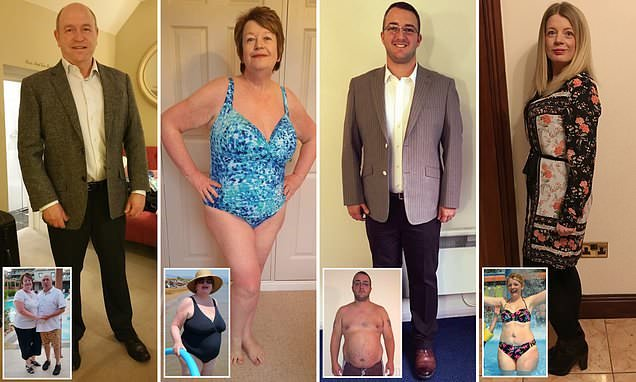 Family set up weight loss business after shedding 14 stone