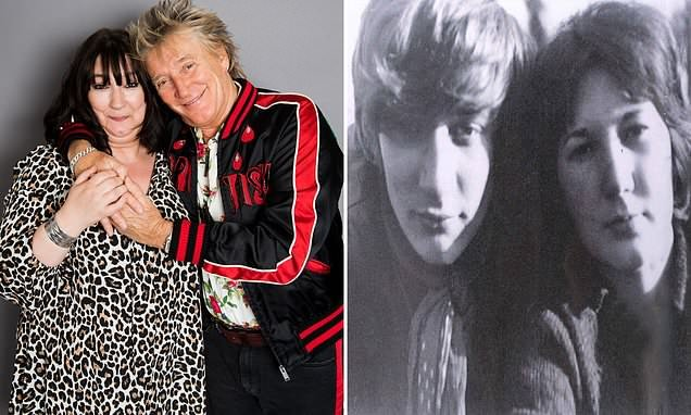 Rod Stewart and the daughter he gave up for adoption