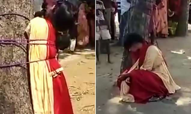Muslim girl, 18, tied and whipped for elope attempt with Hindu lover