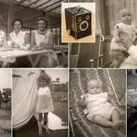 Photographer who bought old camera in charity shop searches for owners