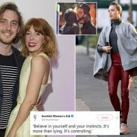 Seann Walsh's ex Rebecca Humphries supports behind abuse charities
