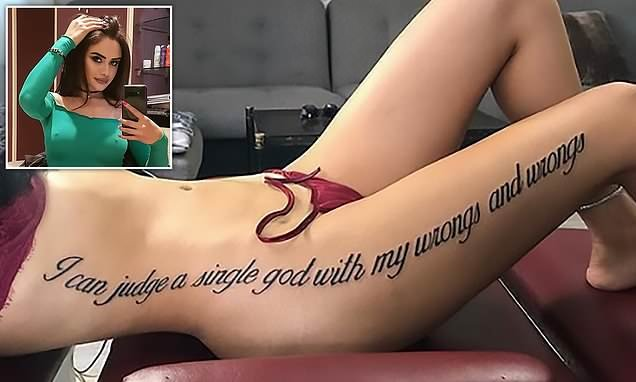 Turkish TV star becomes a laughing stock due to mistranslated tattoo