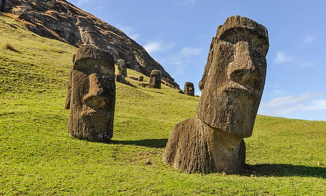 Did Easter Island's stone heads 'point to fresh water sources'?