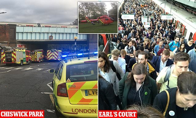 Thousands evacuated from tube station as passenger is hit by train