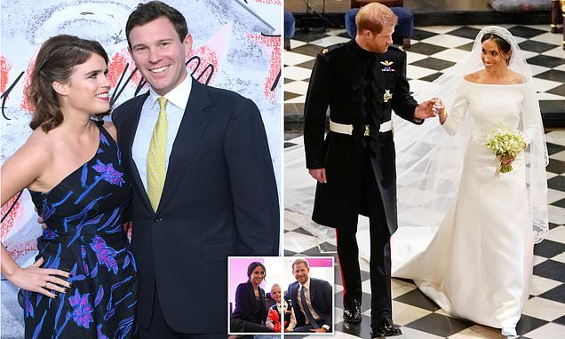 Eugenie's guests invited to direct gifts to the Duke of York's office