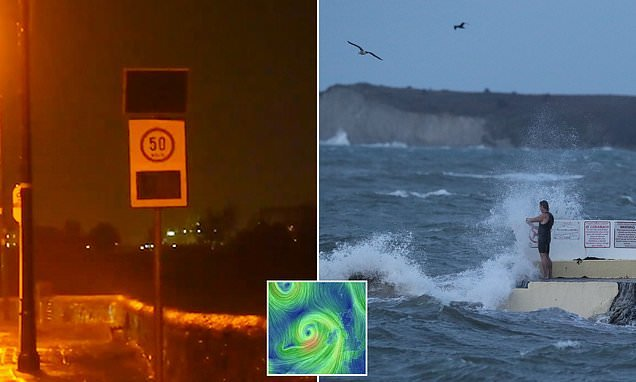 Storm Callum brings chaos with 70mph winds and heavy rainfall