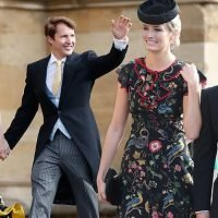 James Blunt walks hand-in-hand with wife Sofia Wellesley
